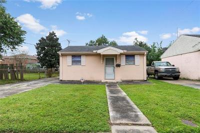 Metairie Single Family Home For Sale: 215 N Dilton Street