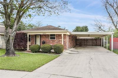 Metairie Single Family Home For Sale: 1401 N Starrett Road