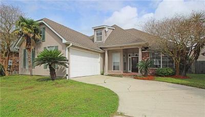 Kenner Single Family Home For Sale: 220 Little Bayou Lane