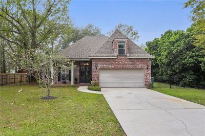 Slidell Single Family Home For Sale: 58391 Choctaw Drive