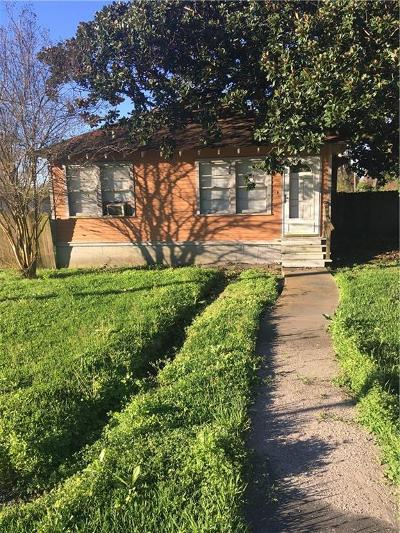 New Orleans Single Family Home For Sale: 2401 Behrman Highway