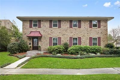 New Orleans Single Family Home For Sale: 3740 Rue Denise
