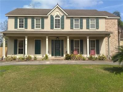 Destrehan, St. Rose Single Family Home For Sale: 120 Riverwood Drive