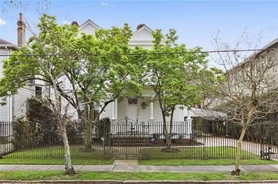 Single Family Home For Sale: 6028 Prytania Street