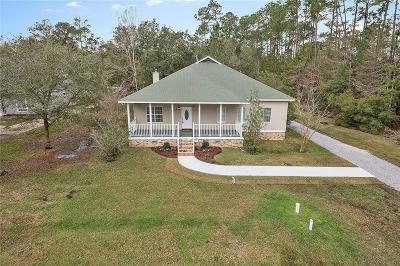Slidell Single Family Home For Sale: 135 Hoover Drive