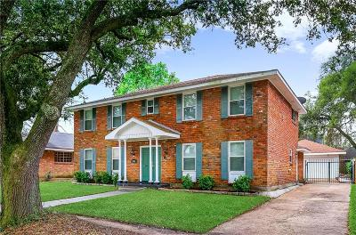 New Orleans Single Family Home For Sale: 3948 Peach Tree Court