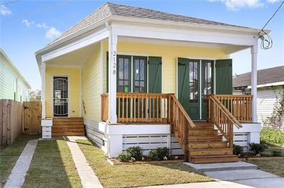 New Orleans Single Family Home For Sale: 2128 Music Street