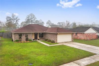 Slidell Single Family Home For Sale: 805 N Pearl Drive