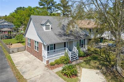Slidell Single Family Home For Sale: 3109 Bayou View Place
