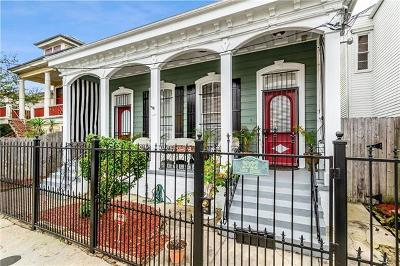 New Orleans Single Family Home For Sale: 2020-22 Camp Street