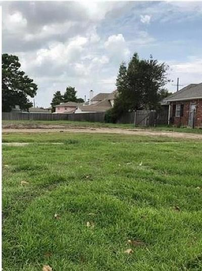 Metairie Residential Lots & Land For Sale: Lake Vista Drive