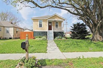 New Orleans Single Family Home For Sale: 2335 Mendez Street