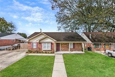 New Orleans Single Family Home For Sale: 4126 Macarthur Boulevard