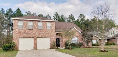 Slidell Single Family Home For Sale: 3210 Ridgeline Drive