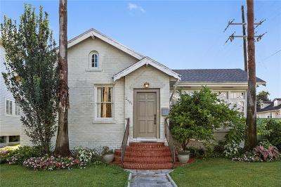 New Orleans Single Family Home For Sale: 2701 Jefferson Avenue