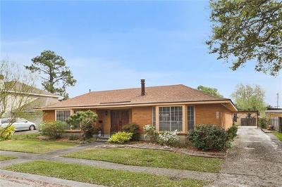 Metairie Single Family Home For Sale: 2009 Colony Road