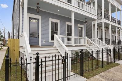 New Orleans Multi Family Home For Sale: 2400 Valence Street #2400