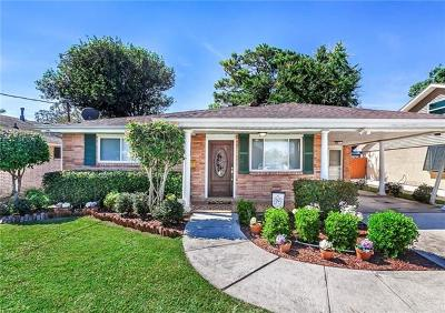 Metairie Single Family Home For Sale: 1404 Poinsettia Street