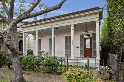 New Orleans Single Family Home For Sale: 2823 Chestnut Street