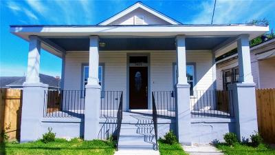 New Orleans Single Family Home For Sale: 2624 Leonidas Street