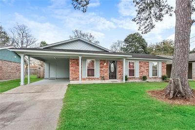 Slidell Single Family Home For Sale: 122 Southpark Drive