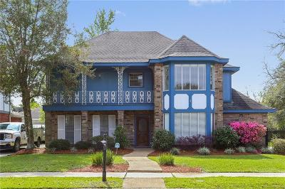 New Orleans Single Family Home For Sale: 17 Kings Canyon Drive