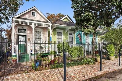 New Orleans Multi Family Home For Sale: 8317 Plum Street