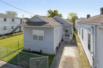 New Orleans Single Family Home For Sale: 2122 Felicity Street