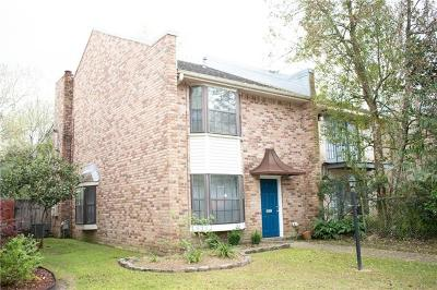 Destrehan, St. Rose Townhouse For Sale: 302 Ormond Meadows Drive #C