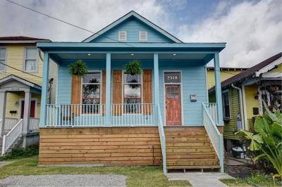 New Orleans Single Family Home For Sale: 2518 Pauger Street