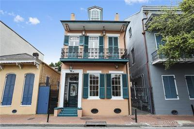 French Quarter Townhouse For Sale: 918 Orleans Avenue