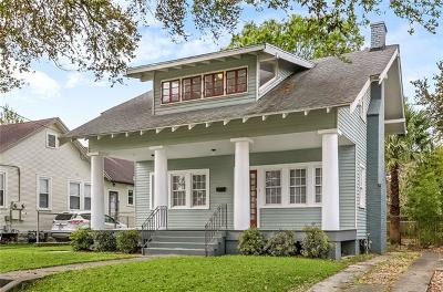New Orleans Single Family Home For Sale: 4654 Demontluzin Street