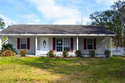 Madisonville LA Single Family Home For Sale: $95,000