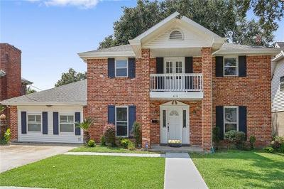 Single Family Home For Sale: 4512 Burke Drive