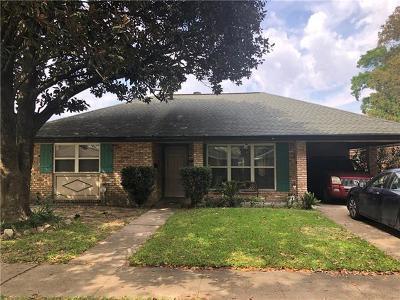 Marrero Single Family Home For Sale: 5520 Hudson Drive