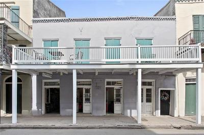 New Orleans Multi Family Home For Sale: 521 St Philip Street #3