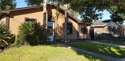 Marrero Single Family Home For Sale: 2612 Batiste Drive
