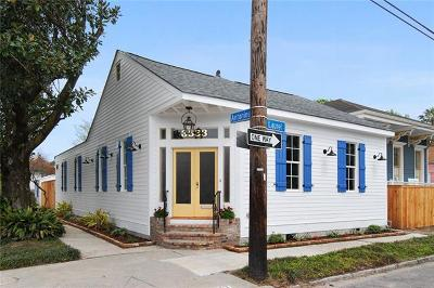 New Orleans Single Family Home For Sale: 3633 Laurel Street