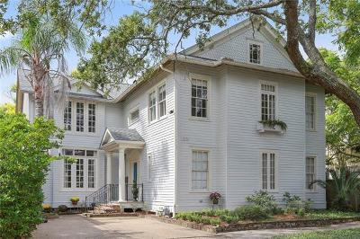 New Orleans Single Family Home For Sale: 7030 Hickory Street