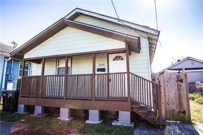 New Orleans Single Family Home For Sale: 2326 S Prieur Street