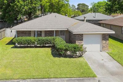 Marrero Single Family Home For Sale: 5425 Pritchard Road