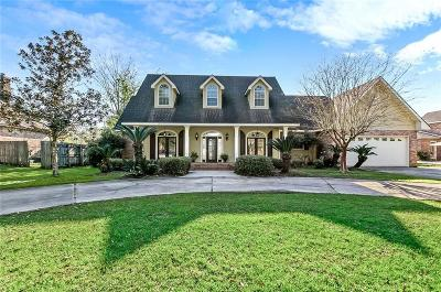 Slidell Single Family Home For Sale: 110 Paradise Point