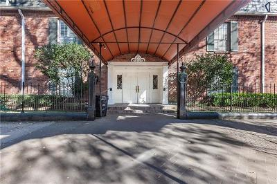 New Orleans Multi Family Home For Sale: 3201 St Charles Avenue #307
