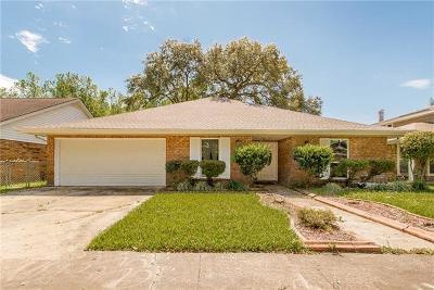 Marrero Single Family Home For Sale: 2925 Villa Drive