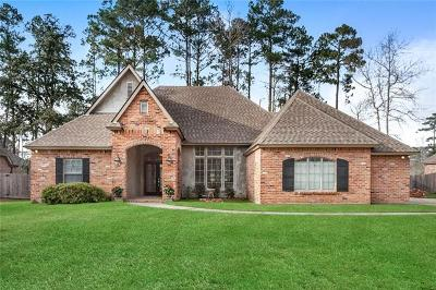 Madisonville Single Family Home For Sale: 206 Le Cirque Drive