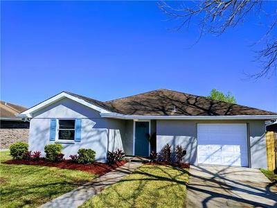 Kenner Single Family Home For Sale: 804 Libra Lane