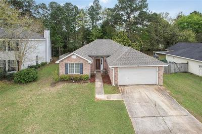 Slidell Single Family Home For Sale: 1123 Lori Drive
