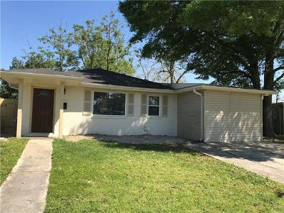 Kenner Single Family Home For Sale: 2804 Albany Street