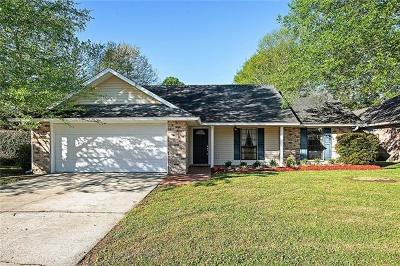 Slidell Single Family Home For Sale: 211 Bluefield Drive