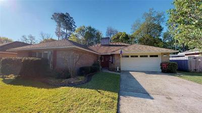 Slidell Single Family Home For Sale: 1309 Patriot Drive